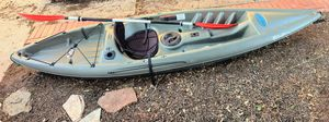 Pelican Potomac Tidewater 100 Angler Fishing Kayak w/ Paddle (10 Feet Long) for Sale in Garland, TX