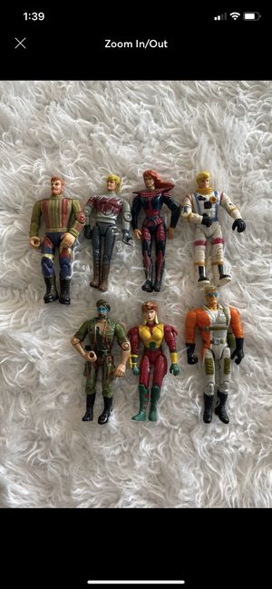 LOT 1996 Galoob The Real Adventures of Johnny Quest and others Action Figures Lot for Sale in Fayetteville, NC