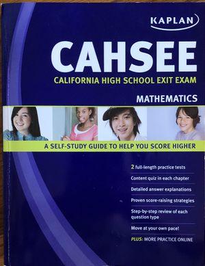 Kaplan CAHSEE Math for Sale in San Jose, CA