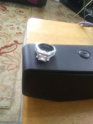 Sterling Silver Ring. Size 7 -1/2 or. -8. Silver for Sale in Mount Vernon, WA