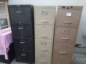 File Cabinet - 3 Available, 4 Drawer for Sale in Martinez, CA