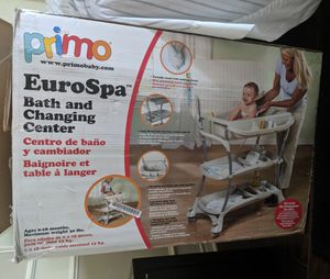 PRIMO - Baby bath and changing table for Sale in Plano, TX