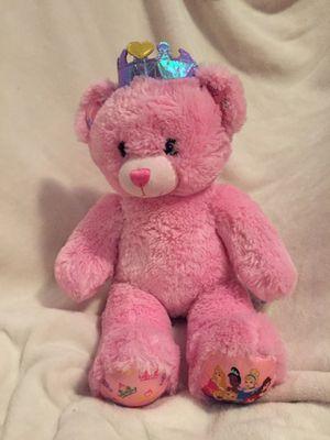 "Build a Bear 16"" Disney Pink Princess Teddy Stuffed Plush Animal for Sale in Bellevue, NE"