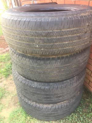 Michelin tires 255-70- 18 4with good tread on them 175.00 for Sale in Pike Road, AL
