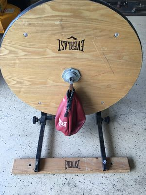 Everlast Boxing Speed Bag with Platform for Sale in Lake Worth, FL