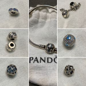 Pandora bracelet with charms for Sale in Tacoma, WA