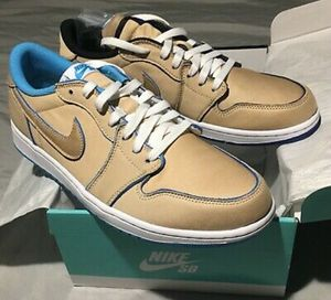 "Nike SB x Air Jordan 1 Low QS Size 10.5 Lance Mountain ""Desert Ore"" Mint for Sale in Signal Hill, CA"