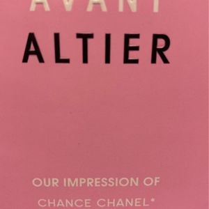 New Women's Perfume Avant Altier /our Impression Of Chance Chanel for Sale in Whittier, CA