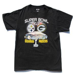 Super Bowl XLV Steelers Vs. Packers Tee for Sale in Tustin, CA