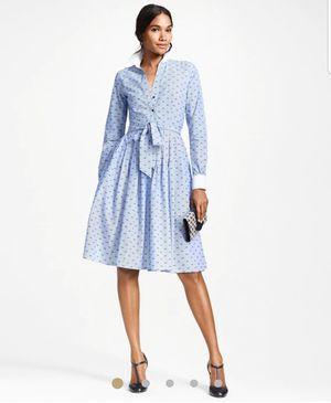 Brooks Brothers Clip Dot Dobby Dress 0P $198 for Sale in Atlanta, GA