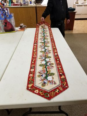 Holiday Table Runner for Sale in Allyn, WA