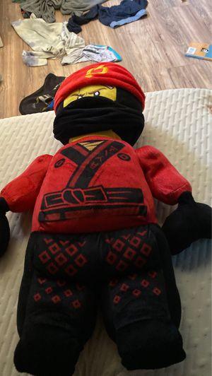Lego Ninjago kai stuffed animal for Sale in San Diego, CA