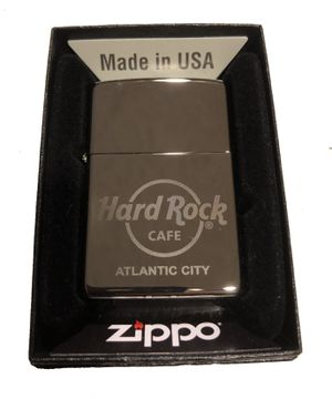 Hard Rock Cafe ATLANTIC CITY Collectible ZIPPO Lighter for Sale in Hainesville, IL