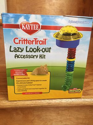 Kaytee CritterTrail lazy lookout accessory kit for Sale in Chicago, IL