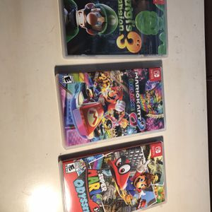 Nintendo Switch Games 40 Each Firm for Sale in Grand Prairie, TX