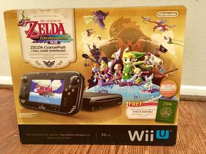 Nintendo Wii U Zelda windwaker edition for Sale in Houston, TX