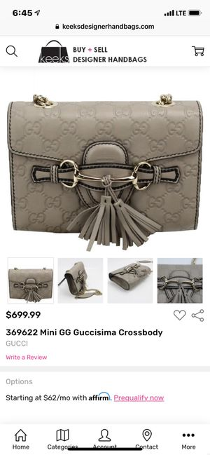 Gucci Shoulder Bag for Sale in Beaumont, CA