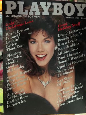 December 1985 Christmas gala edition Playboy for Sale in Pittsburg, CA