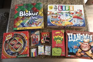 MOVING SALE: kids children's family games for Sale in Seattle, WA