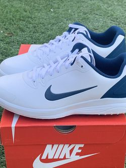 Nike Infinity G Fitsole Golf Shoes White/Blue Men's Size 9 for Sale in Las Vegas,  NV