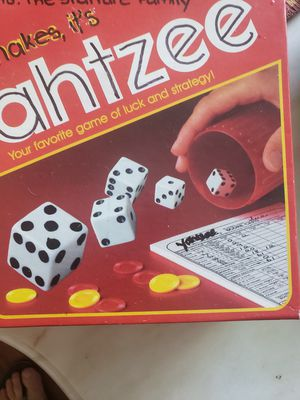 Yatzee dice game for Sale in Pompano Beach, FL