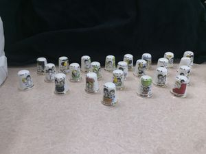 Love is...Porcelain glass little thimble collection with a little tea bag holder for Sale in Las Vegas, NV