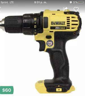 "Tengo ala venta Nuevo Dewalt DCD780 20V MAX Lithium Ion 1/2"" Compact Drill Driver DCD780B 2 Speed for Sale in Ruckersville, VA"