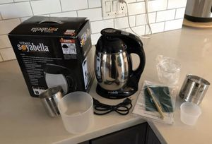 Soyabella Automatic soymilk maker and coffee grinder for Sale in Phoenix, AZ