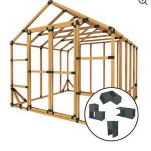 E-Z Frame Shed Structure Kit for Sale in Fort Lauderdale, FL