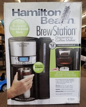 NEW Hamilton Beach 47900 Brew Station Programmable 12 Cup Coffee Maker: njft hsewres appliances for Sale in Burlington, NJ