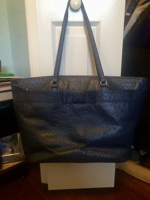 Kate Spade navy handbag/tote for Sale in Odessa, FL