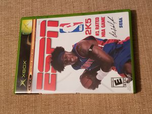 Xbox ESPN NBA 2K5 for Original Microsolft Xbox System for Sale in Chambersburg, PA