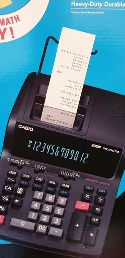 Casio calculator for Sale in Falls Church,  VA