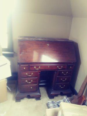 Hardwood dresser beautiful wood antique for Sale in Dublin, OH