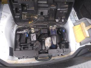 $25***19.2 volt CORDLESS COMBO KIT IN CASE for Sale in Arlington, TX