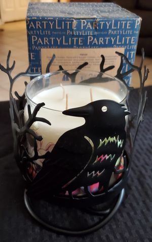 Partylite Raven Jar Holder for Sale in Baldwin Park, CA