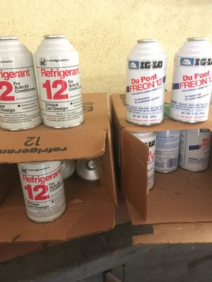 R12 Freon for Sale in Riverside, CA