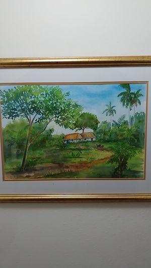 Original Watercolor by Nimia. for Sale in Miami, FL