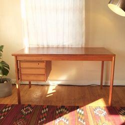 Vintage Peter Lovig Danish Teak Sliding Top Desk for Sale in West Linn,  OR