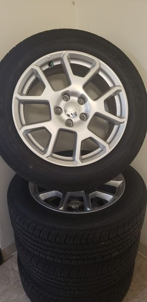 "Set of 4 2020 jeep renegade 17""wheels for Sale in Lowell, MA"