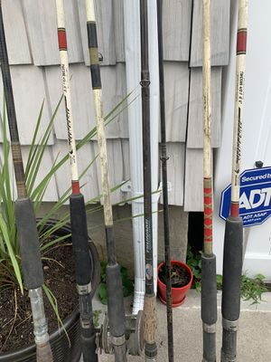 Fishing rods and reel for Sale in Oceanside, NY