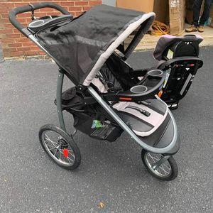 Gracie fast Action Folding Jogging Stroller, Gotham for Sale in Powder Springs, GA