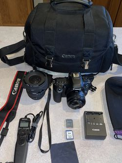 Canon 80d Bundle with lenses for Sale in Kuna,  ID