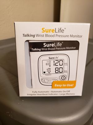Sure Life Talking Wrist Blood Pressure Monitor for Sale in Nashville, TN