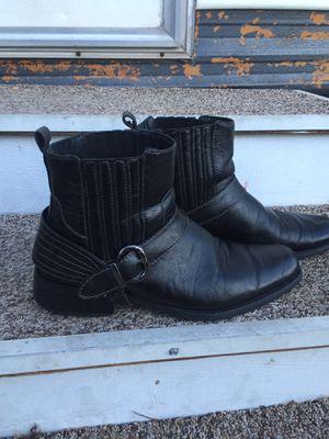 Deli Aldo black leather ankle boots for Sale in Phoenix, AZ