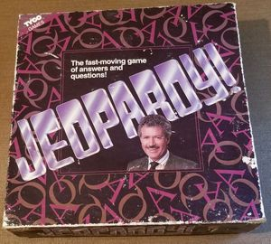 Jeopardy Tyco 1992 board game for Sale in Three Rivers, MI