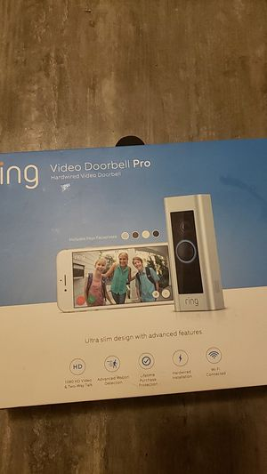 RING VIDEO DOOR BELL PRO for Sale in New York, NY