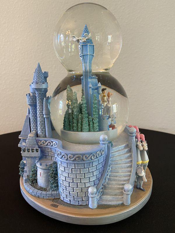 Disney Snow Globe Cinderella Wedding Castle