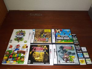 Nintendo 3DS and DS games different prices for Sale in Modesto, CA