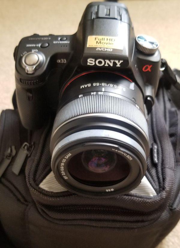 Sony Camera a33